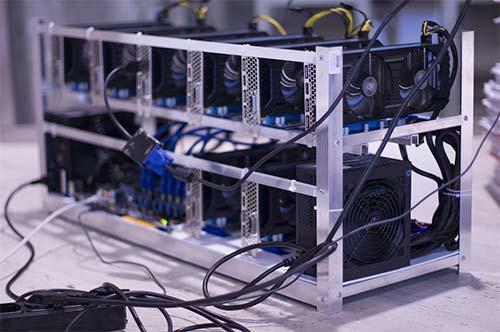 Crypto mining computer