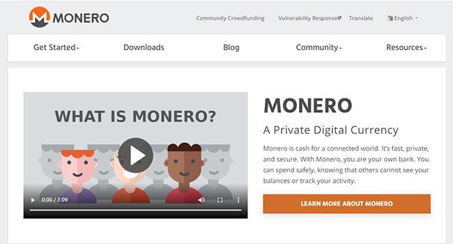 Monero kopen website